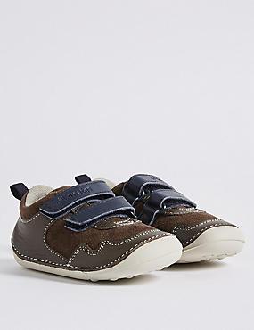 Kids' Pre Walker Walkmates™ Shoes, BROWN MIX, catlanding