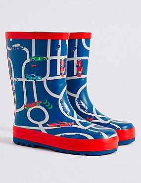 Kids' Novelty Car Wellies