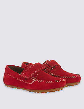 Kids' Suede Riptape Shoes