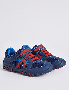 Kids' Flashing Lights Trekker Trainers