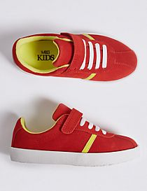 Kids' Suede Trainers