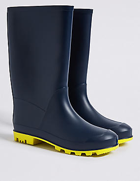 Kids' Wellies, NAVY, catlanding