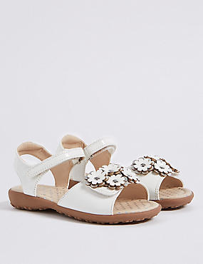Kids' Floral Applique Sandals