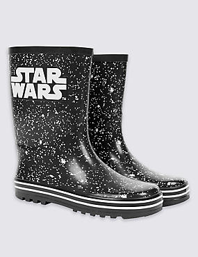 Kids' Star Wars™ Pull-on Wellington Boots