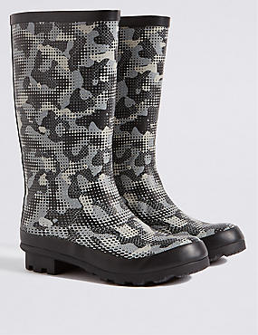 Kids' Water Repellent Wellington Boots