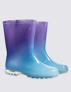 Kids' Light-up Wellington Boots