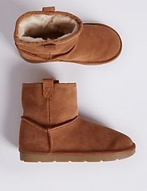 Kids' Suede Ankle Boots