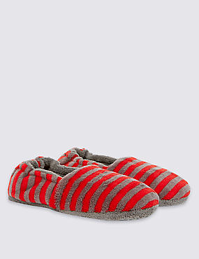 Kids' Stripe Slippers