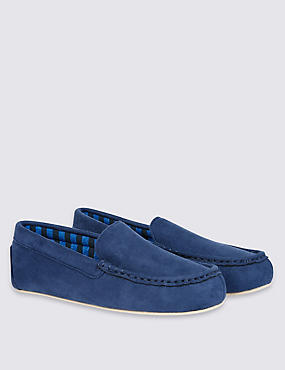 Kids' Moccasin Slip-on Slippers