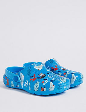 Kids' Printed Clogs