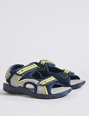 Kids' Trekker Sandals (5 Small - 12 Small), GREY MIX, catlanding
