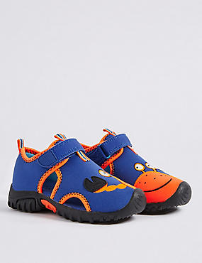 Kids' Crab Motif Water Shoes