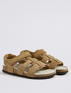Kids' Leather Fisherman Sandals