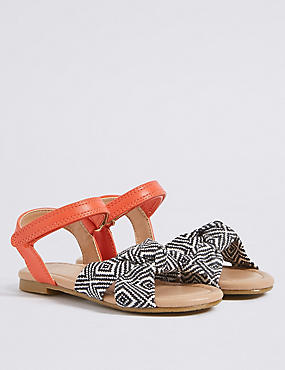 Kids' Knotted Riptape Sandals