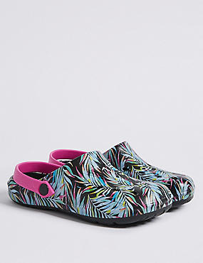 Kids' Holiday Printed Clogs