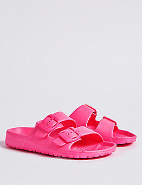Kids' Lightweight Sandals (13 Small - 6 Large), BRIGHT PINK, catlanding