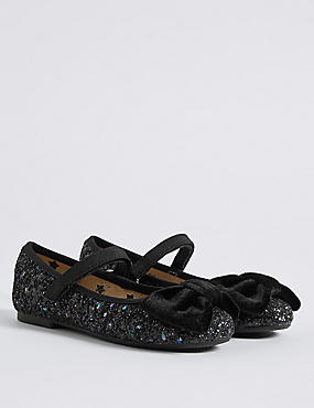 Kids' Crunch Glitter Cross Bar Shoes