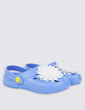 Kids' Flower Clogs
