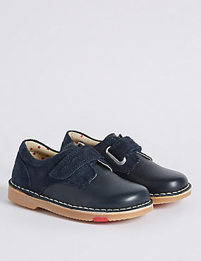 Kids' Leather Walkmates™ Driving Shoes , NAVY, catlanding