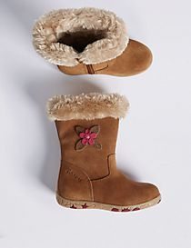 Kids' Suede Walkmates Boots