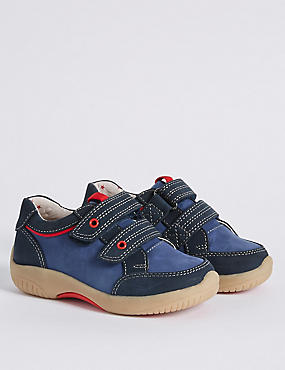 Kids' Leather Walkmates Sports Trainers