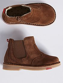 Kids' Suede Walkmates Chelsea Boots