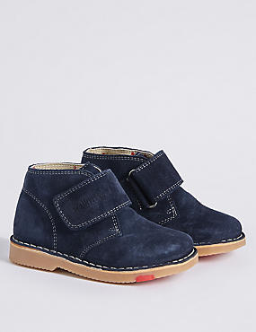Kids' Suede Walkmates Ankle Boots