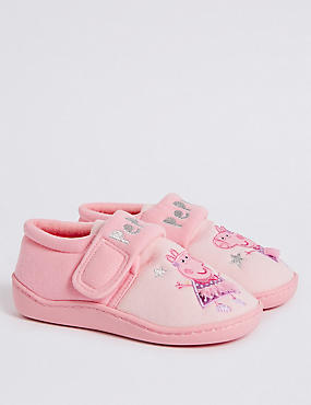 Peppa Pig™ Slippers (5 Small - 12 Small), PINK MIX, catlanding