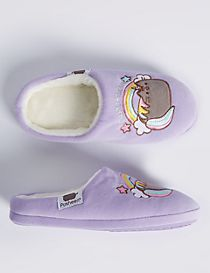 Kids' Slip-on Pusheen Slippers