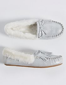 Kids' Moccasin Slipper Shoes