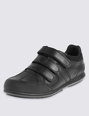 Kids' Leather School Shoes with Insolia Flex® & Freshfeet™ Technology