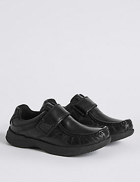 Kids' Leather Freshfeet™ Fashion Trainers