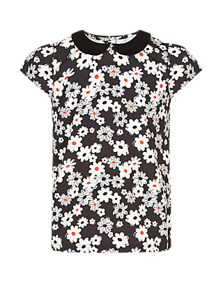Floral Blouse (5-14 Years) Clothing