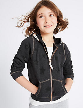 Cotton Rich All Over Print Sweatshirt (3-14 Years)