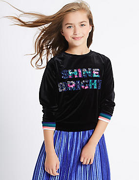 Shine Bright Sweatshirt (3-14 Years)