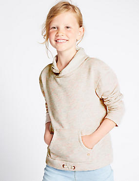 Cotton Rich Sweat Top (3-14 Years)