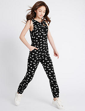 Animal Print Jumpsuit (3-14 Years)