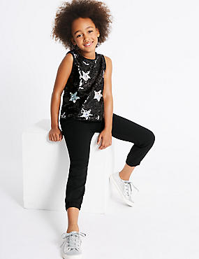 Star Sequin Jumpsuit (3-14 Years)