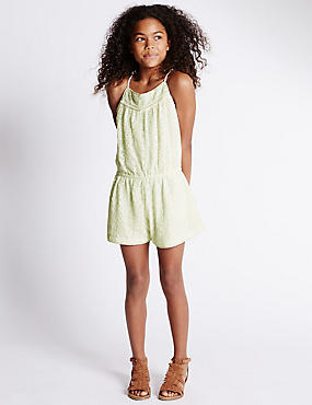 Lace Playsuit (5-14 Years)