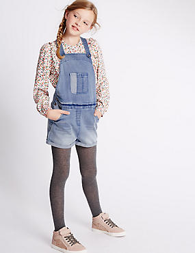 Cotton Rich Denim Dungaree (3-14 Years)