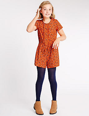 Ditsy Floral Print Playsuit (5-14 Years)