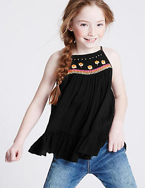 Embellished Top (3-14 Years)
