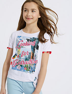 Sequin Paradise Top (3-16 Years)