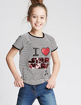 Star Wars™ Pure Cotton Top (3-14 Years)