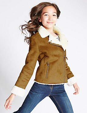 Shearling Jacket with Stormwear™ (5-14 Years)
