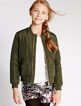 Bomber Jacket with Stormwear™ (5-14 Years)