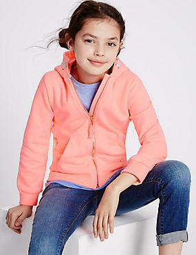 Long Sleeve Hooded Top (3-14 Years)