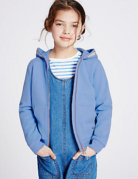 Long Sleeved Hoody (3-14 Years)
