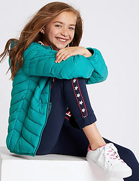 Lightweight Coat with Stormwear (3-16 Years), LIGHT TEAL, catlanding