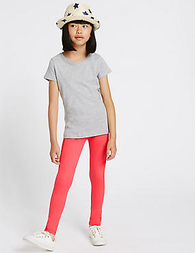 Ponte Ribbed Leggings (3-14 Years)